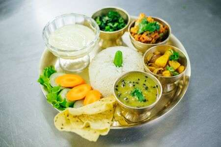 136614832-nepali-khana-set-traditional-nepalese-food